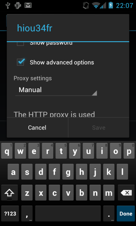 Debugging HTTP on an Android phone or tablet with Charles